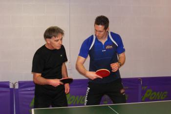 Samson coaching a student